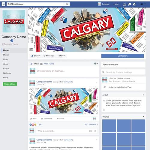 Calgary-Monopoly Facebook Cover