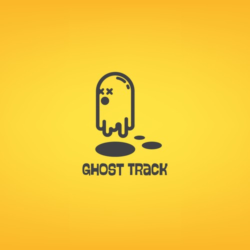 Whimsical Ghost Logo