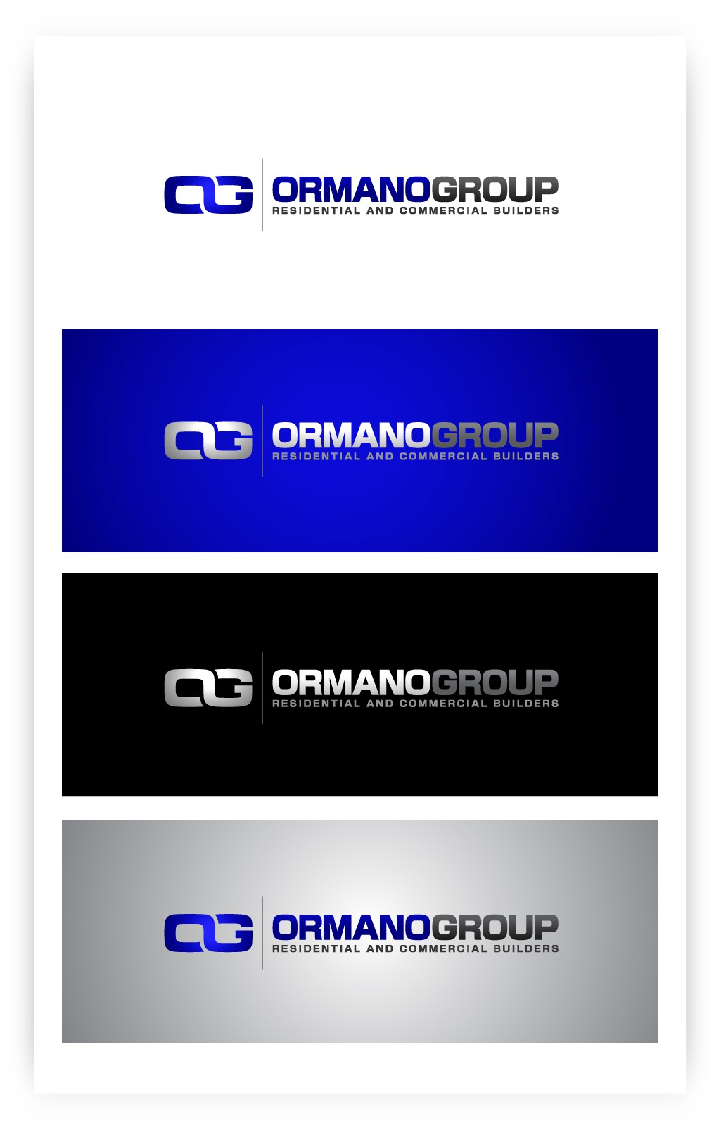 Help Ormano Group  with a new logo