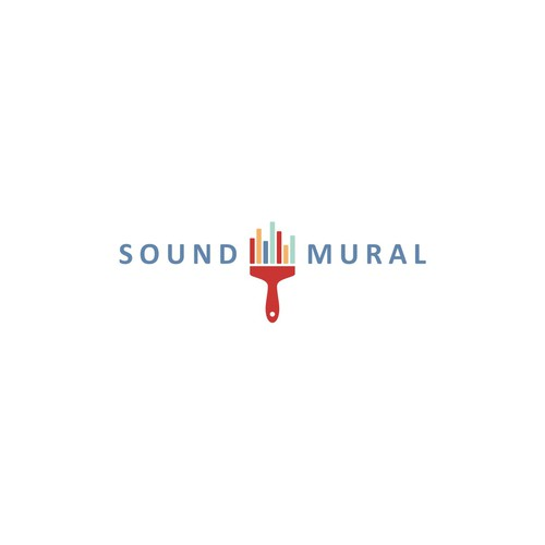 Logo concept for SOUND MURAL