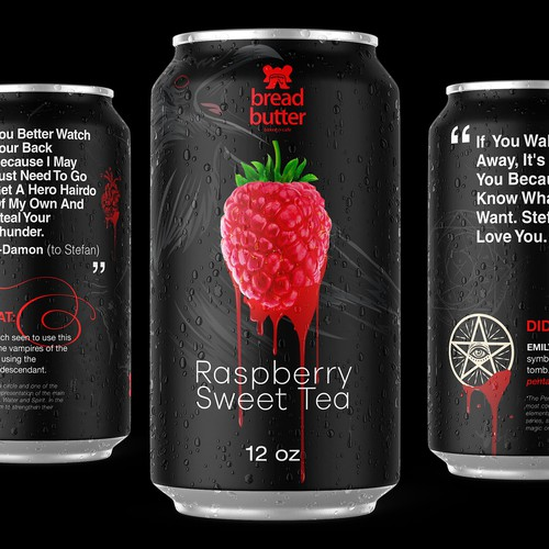 Vampire Diaries Inspired Raspberry Sweet Tea Concept