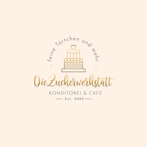 Logo design for a pastry and coffee shop