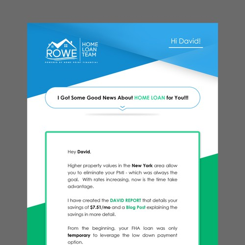 Bob Rowe Mortgage Newsletter