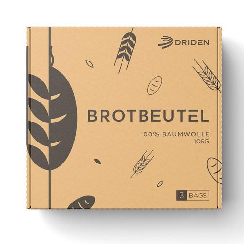 Clean packaging for bread bags