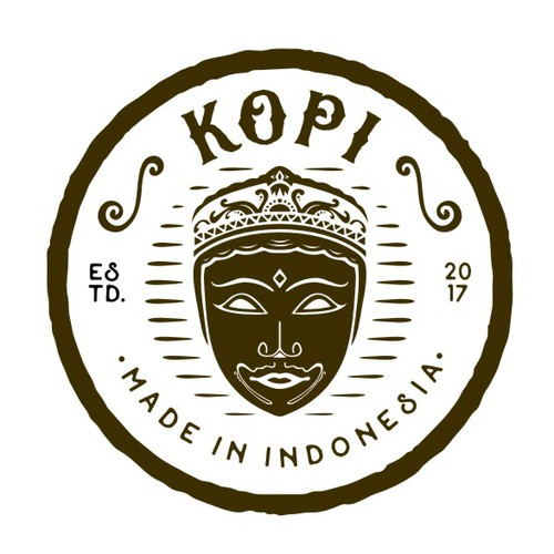 Logo Concept for Kopi - Luxury Coffee