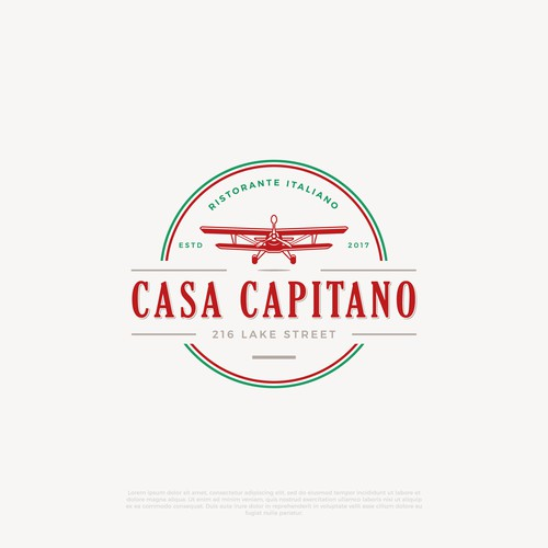 New logo for Italian Restaurant