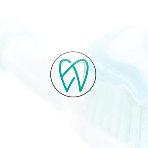 Logo for a organic tooth care product