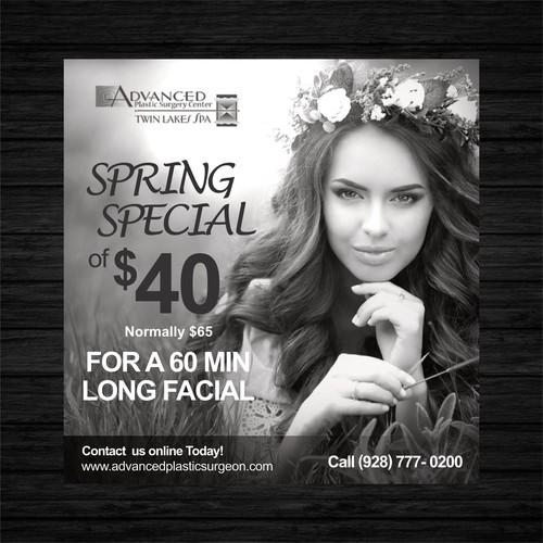Medical Spa Facial Spring Special