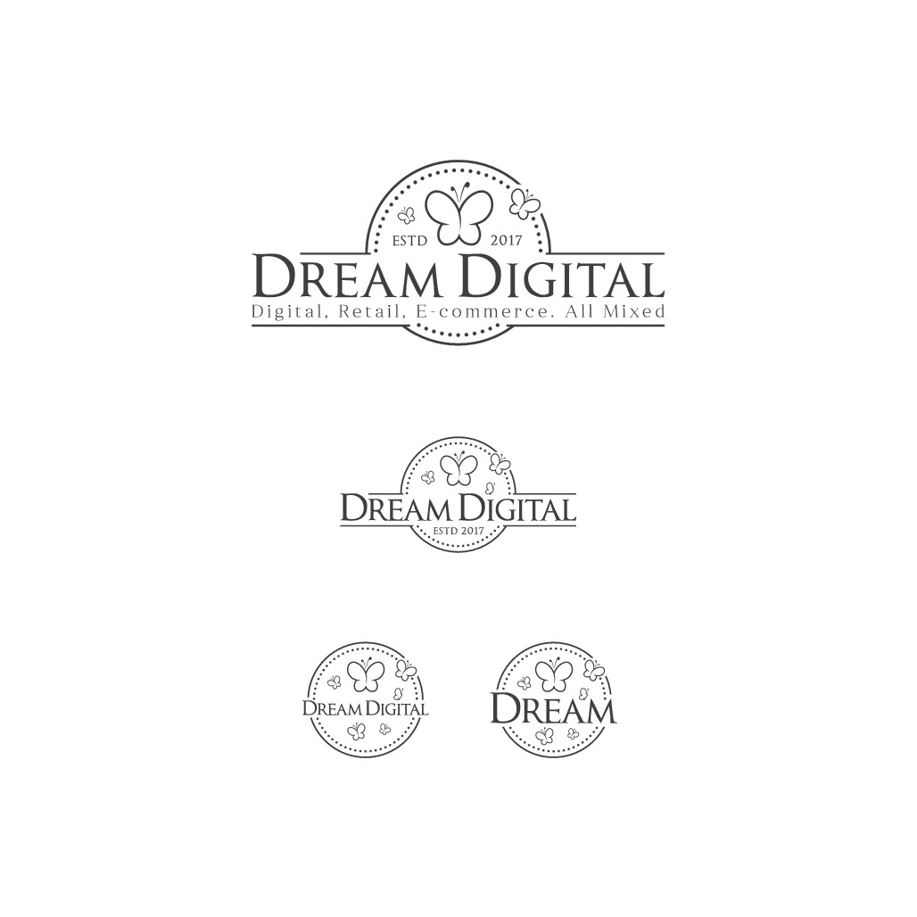 logo and website for Dream Digital Consulting