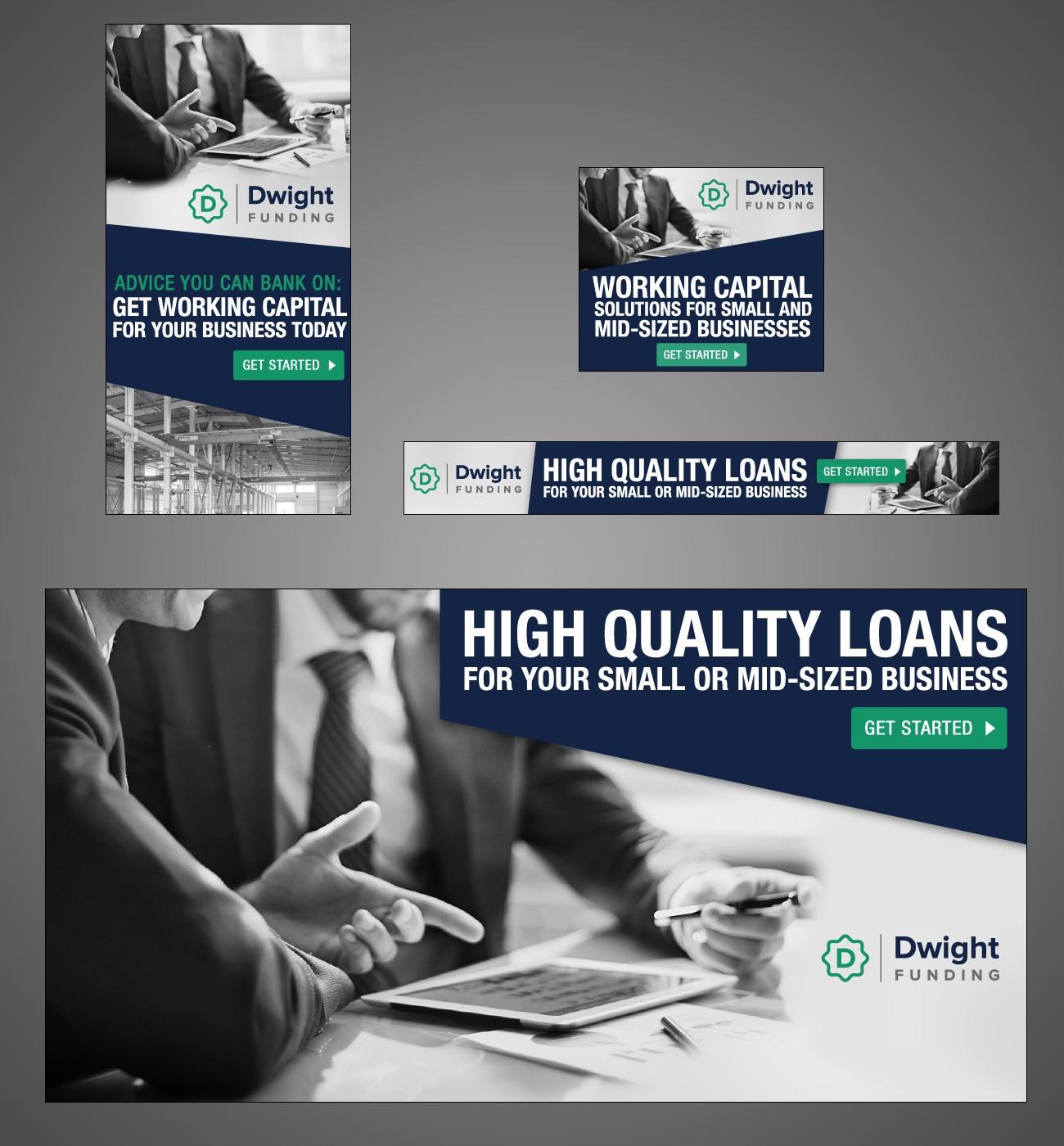 Banner ad for asset-based lender Dwight Funding