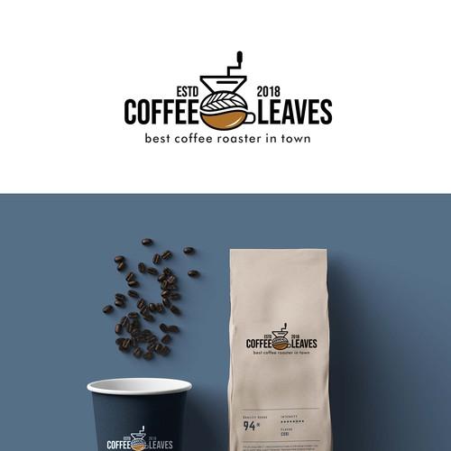 Coffee Leaves Logo