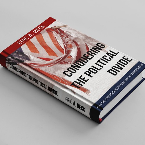 Gritty design for a politically charged book