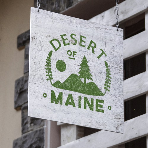 Logo concept for a Touristic desert