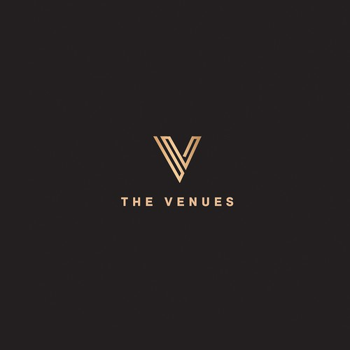 Vintage logo for event space