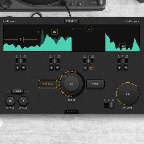 Audio plugin UI