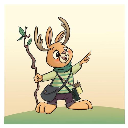 Jackalope Character Design