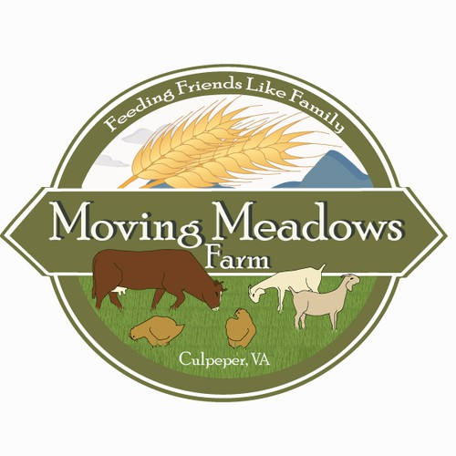 Logo concept for a lovely farm