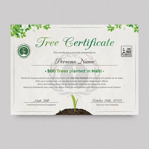 tree certificate