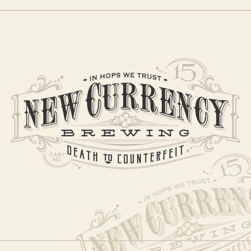 Old money inspires new brewery - create a old world logo for a new microbrewery