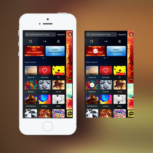 Awesome New Design for a Popular Picture App