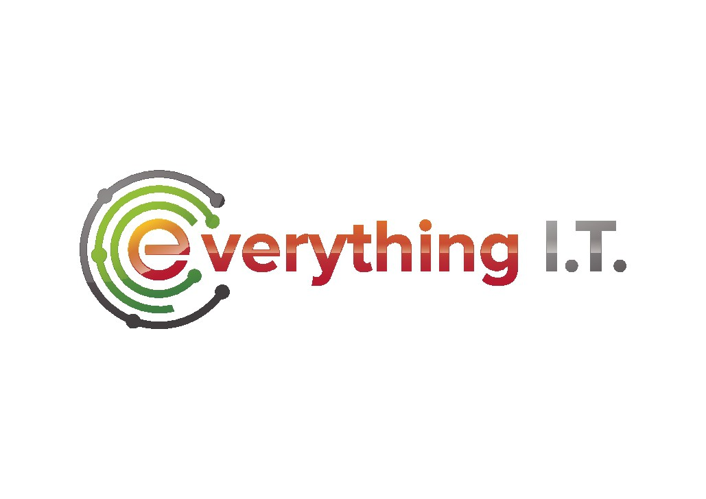 everything I.T. needs a modern cool Logo and more