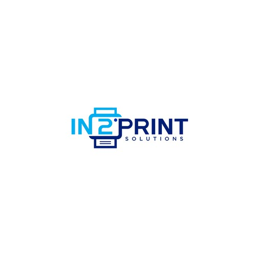Logo concept for IN 2 PRINT SOLUTONS.