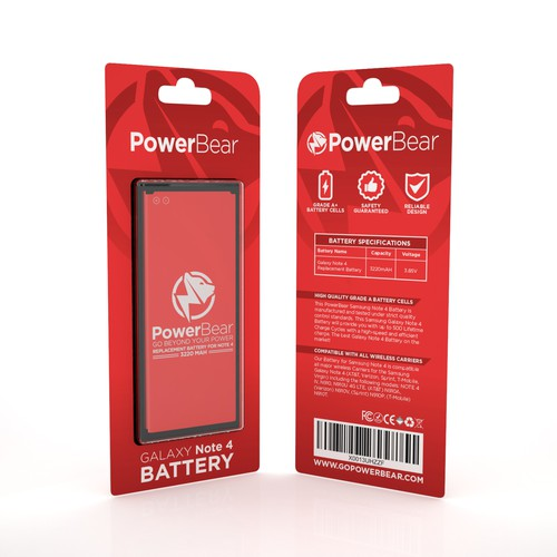 PRODUCT PACKAGING FOR POWERBEAR