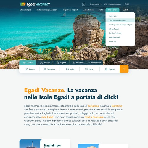 Travel Agency Booking Website