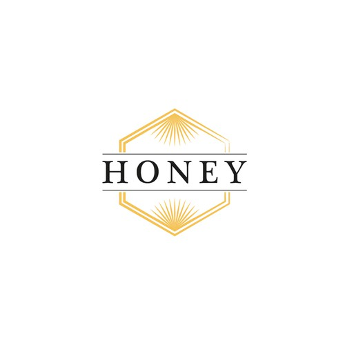 Bright and Positive Logo for Honey