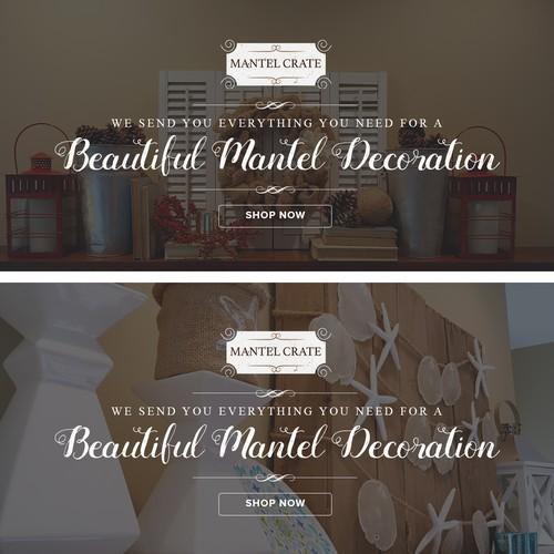 Mantel Crate Banner Design #2