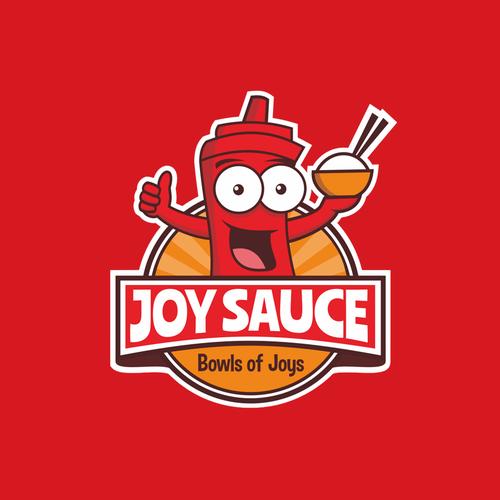 Joy Sauce concept design logo