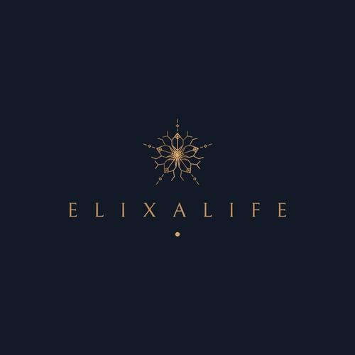 Elixalife logo design