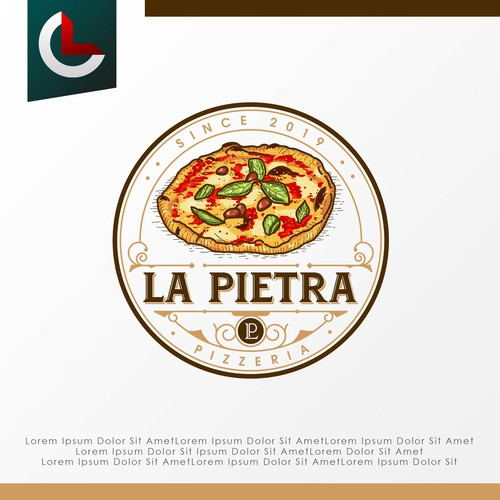 Classic Logo for a Pizzeria