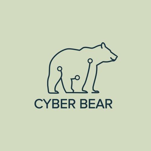 Need a logo for an App development company, Cyber Bear