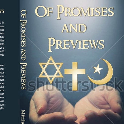 Book cover for a relgious book