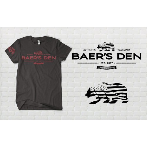 T-Shirt for Local Men's Clothing Store! The Baer's Den