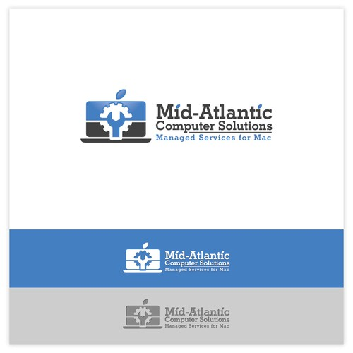 Logo Concept for Mid-Atlantic Computer Solutions