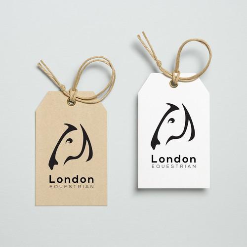 Logo branding for new horses clothing label