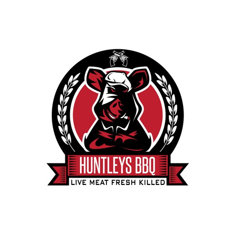 Huntleys BBQ logo