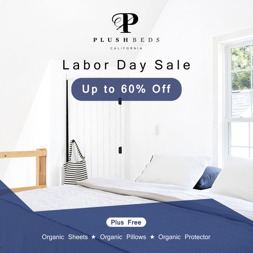 Digital  Banners for Labor Day Sale