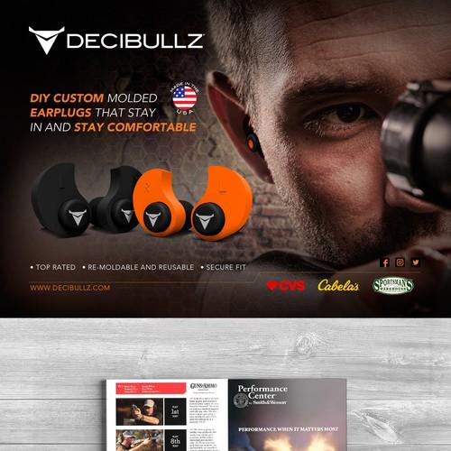 Decibullz ad for Magazines