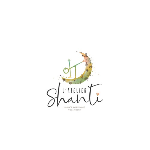 Logo Design for L'Atelier Shanti