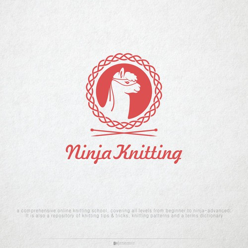 Create a clever logo for Ninja Knitting: online knitting school