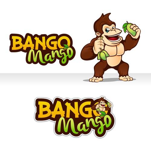 Gorilla Mascot design