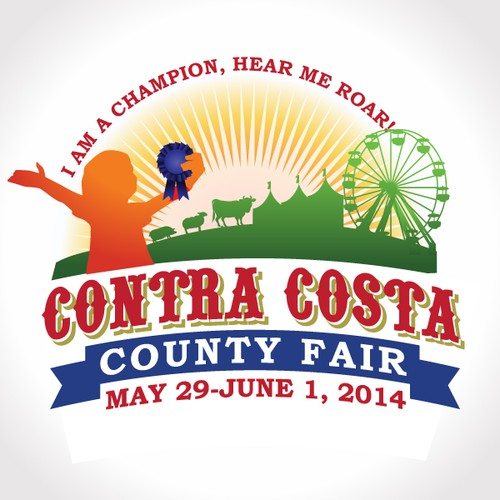 Create a winning logo for the Contra Costa County Fair
