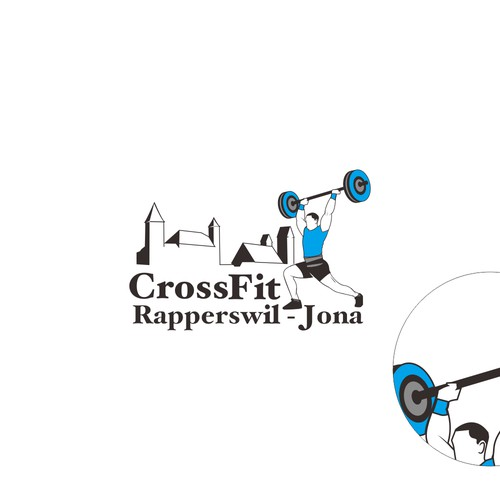 Create our third logo for our CrossFit studio to match the others!
