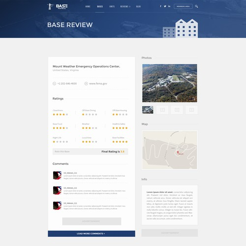 Military Review Website