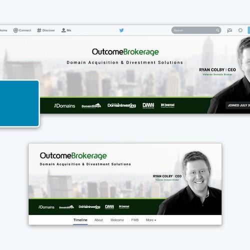 Outcome Brokerage Social Media Design