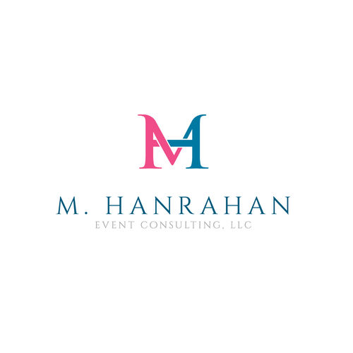 Design concept for M. Hanrahan event consulting logo
