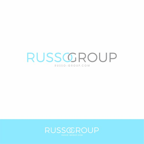A clean logo for real estate group : Russo Group